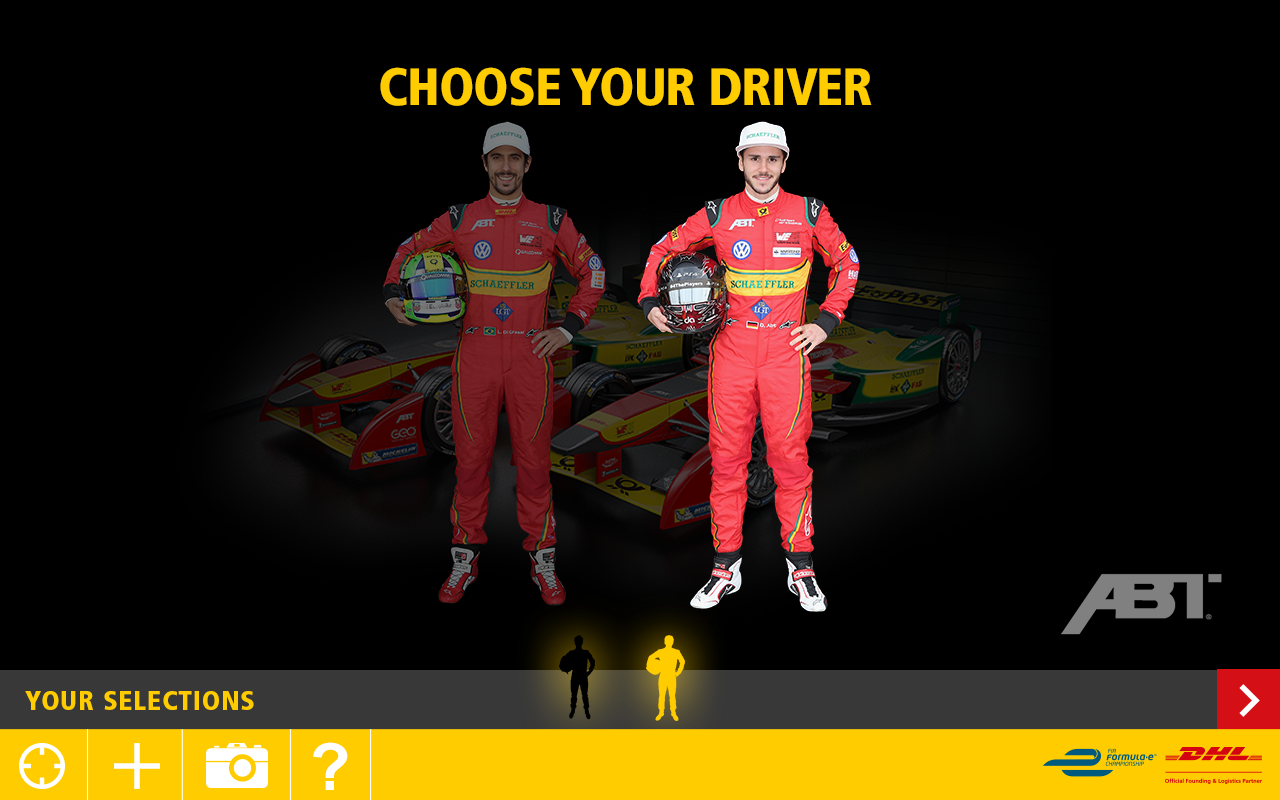 DHL Formula E- screenshot