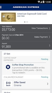 Amex AU- screenshot thumbnail