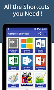 Computer Shortcut Keys Pro screenshot