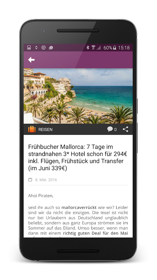 Urlaubspiraten – Screenshot