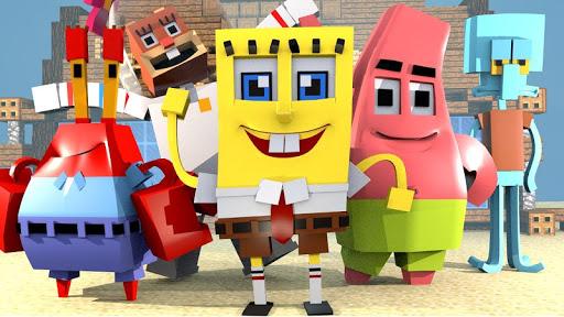 Addon for Minecraft Spongebob 1.3 screenshots 1