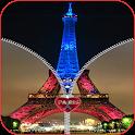 Paris Zipper verrouillage HD icon