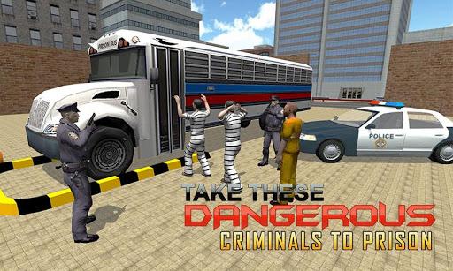 Policebus囚犯运输