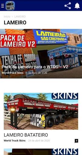 Skins World Truck Driving Simulator - WTDS ss3