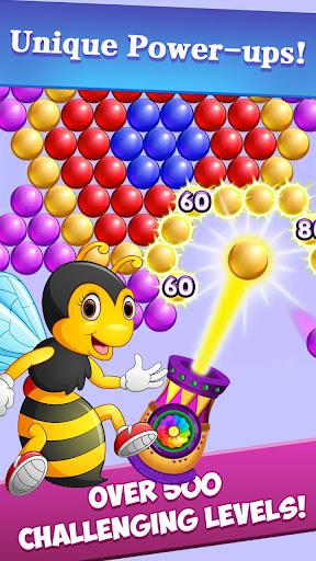 New Bubble Shooter Adventure Bee Bubble android2mod screenshots 3
