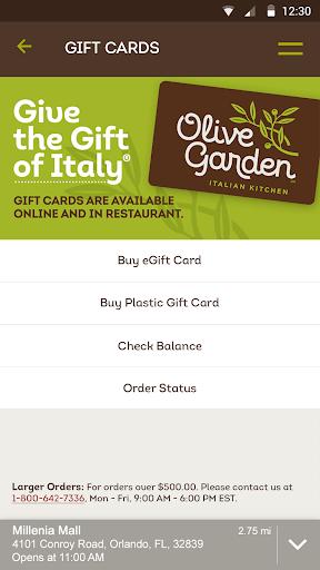 Olive Garden Italian Kitchen screenshot 4