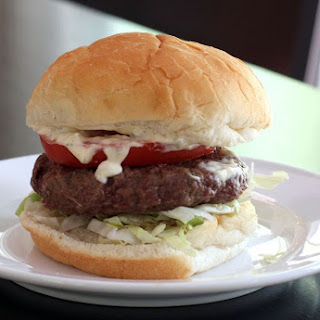 Basic Grilled Burgers With Topping Suggestions.