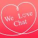 友達探しSNSアプリの決定版 WeLoveChat