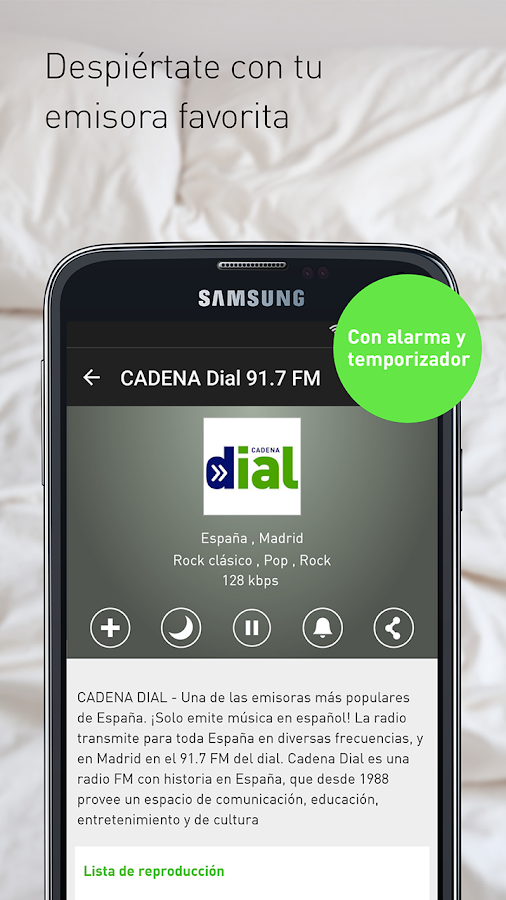 radio.es: captura de pantalla