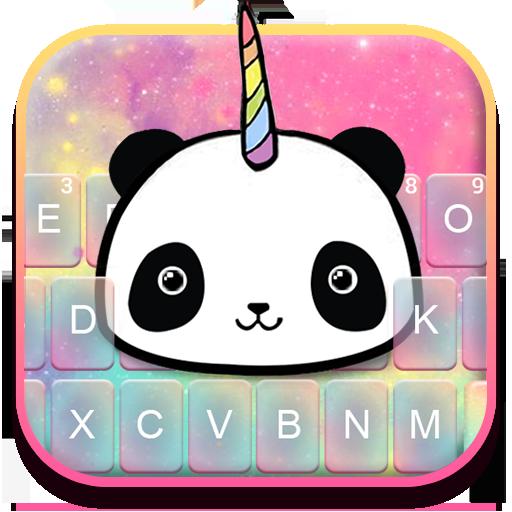 Lovely Unicorn Pandicorn Keyboard Theme Icon