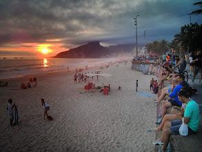 Photo: Sunset at Ipanema