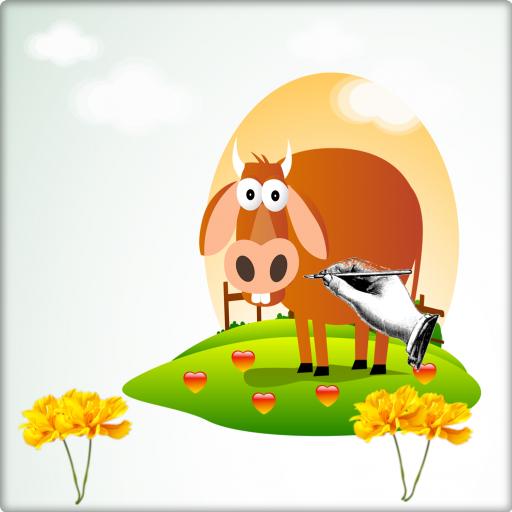 Drawing To Animals Farm
