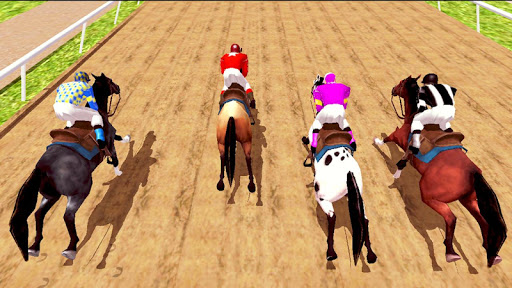 Horse Racing Games 2020: Horse Riding Derby Race apkmr screenshots 2