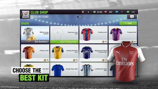Top Eleven 2018 - Be a Football Manager  screenshots 5