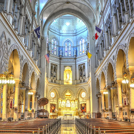 Immaculate Conception Church by Jim Zabroski - Buildings & Architecture Places of Worship ( church, new orleans,  )
