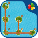 Bridges: A Number Line Puzzle icon