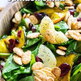 Winter Spinach Salad.