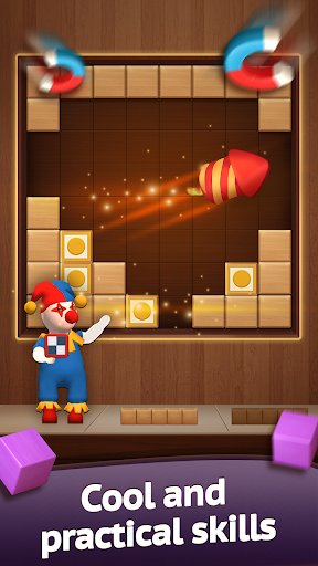Hello Block - Wood Block Puzzle android2mod screenshots 2