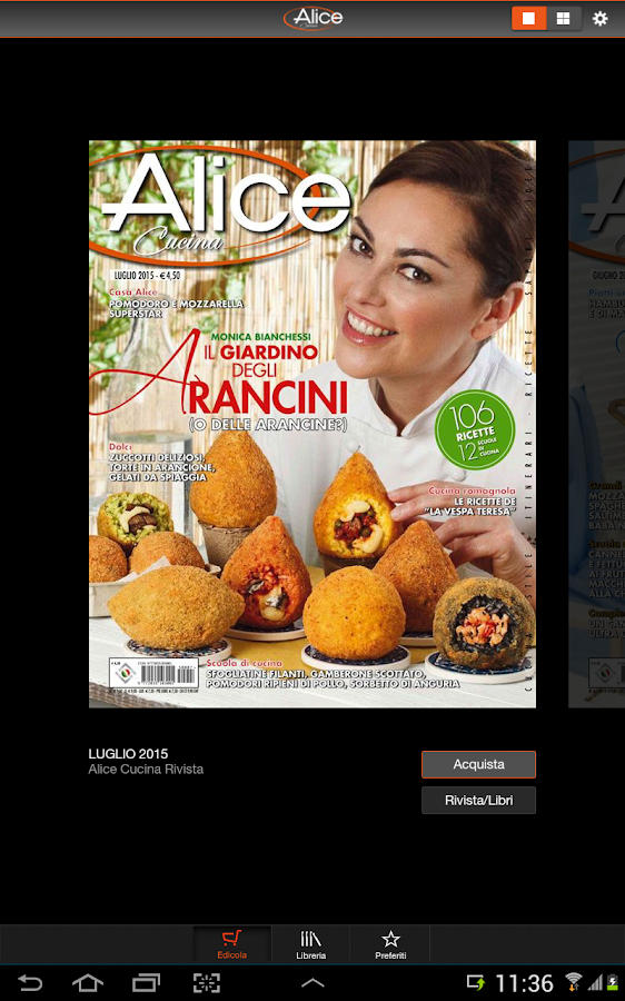 Alice cucina android apps on google play for Alice cucina ricette