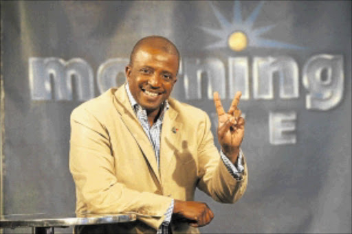 CHARISMATIC: The death of  TV broadcaster Vuyo Mbuli has left a void PHOTO: ANTONIO MUCHAVE