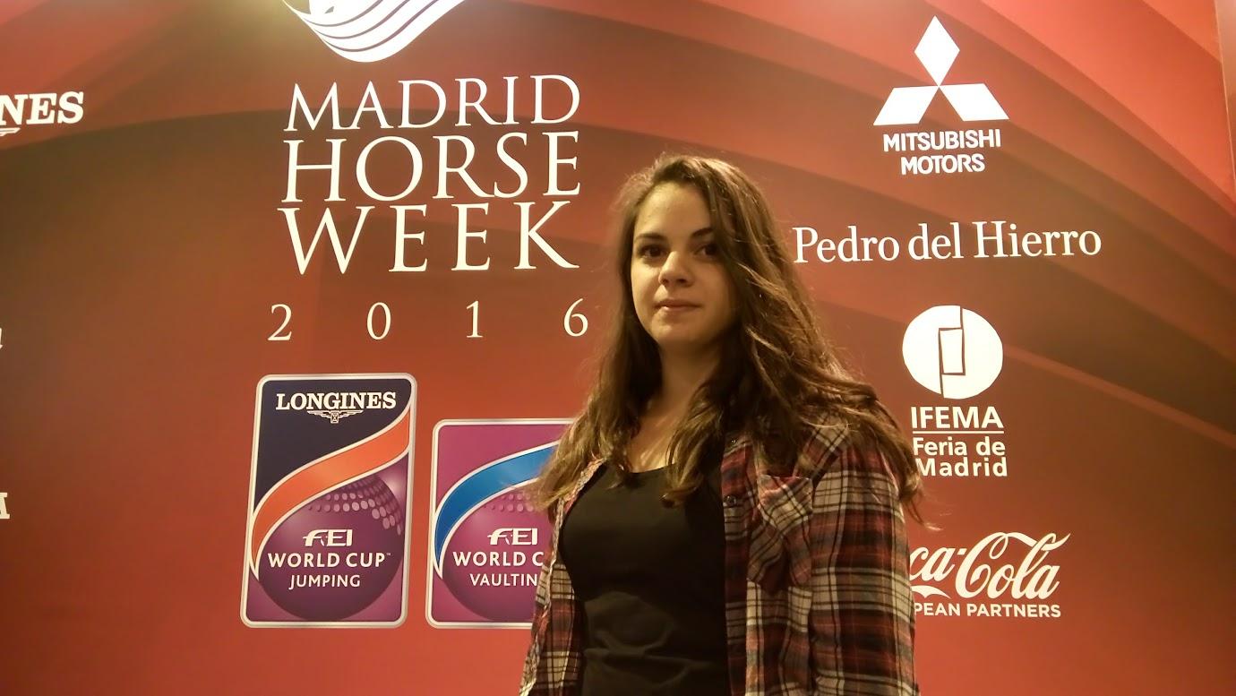 Nuria (Pintureta) en Madrid Horse Week 2016