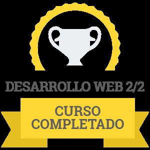 Diploma del curso completado