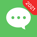 Messages: free texting messages chat app icon
