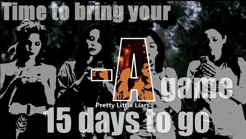 Photo: #PrettyLittleLiars in 15 more days, the anticipation is rising!