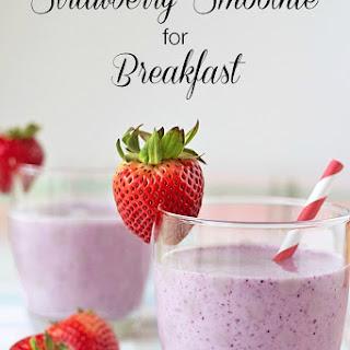 Recipe for a Strawberry Smoothie