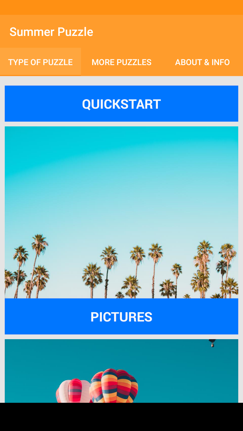 Скриншот Summer Jigsaw Puzzle