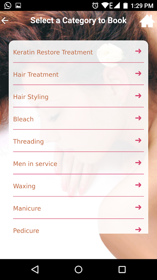 Strands Salons- screenshot