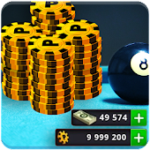 Coin & Cash 8 Ball Pool - Prank