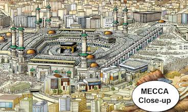 Photo: Mecca(detail view)