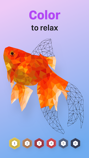 POLYGON : Coloring-Booku2219 Poly Art by Numbers filehippodl screenshot 6