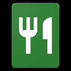 Addition de commande de café et de restaurant icon