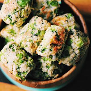 Baked Garlic-Parmesan Broccoli Bites (Gluten Free)