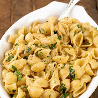 Garlic-Buttered Pasta Shells Recipe
