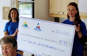 29870 $ amassé pour les jeunes marins de Québec