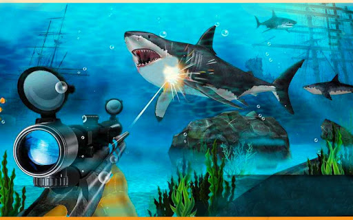 Real Whale Shark Sniper Gun Hunter Simulator 19 1.0.4 screenshots 9