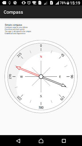 Compass Simple screenshot 1