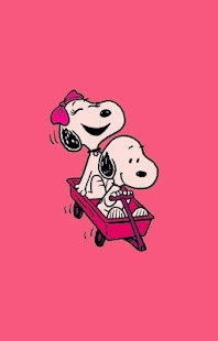 Snoopy Wallpaper - náhled