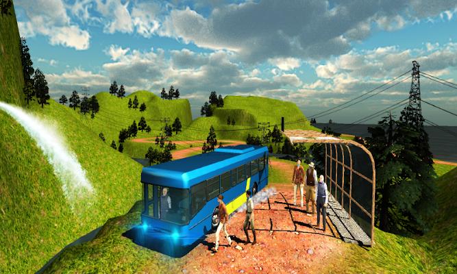 Hill Side Bus Drive Off-Road - screenshot