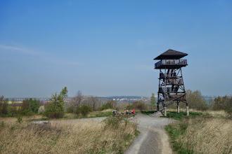 Photo: rozhledna na návrší Kozí hory (Kozia Góra, 317 m n. m.), lze z ní spatřit pěkná panorama města Prudnik