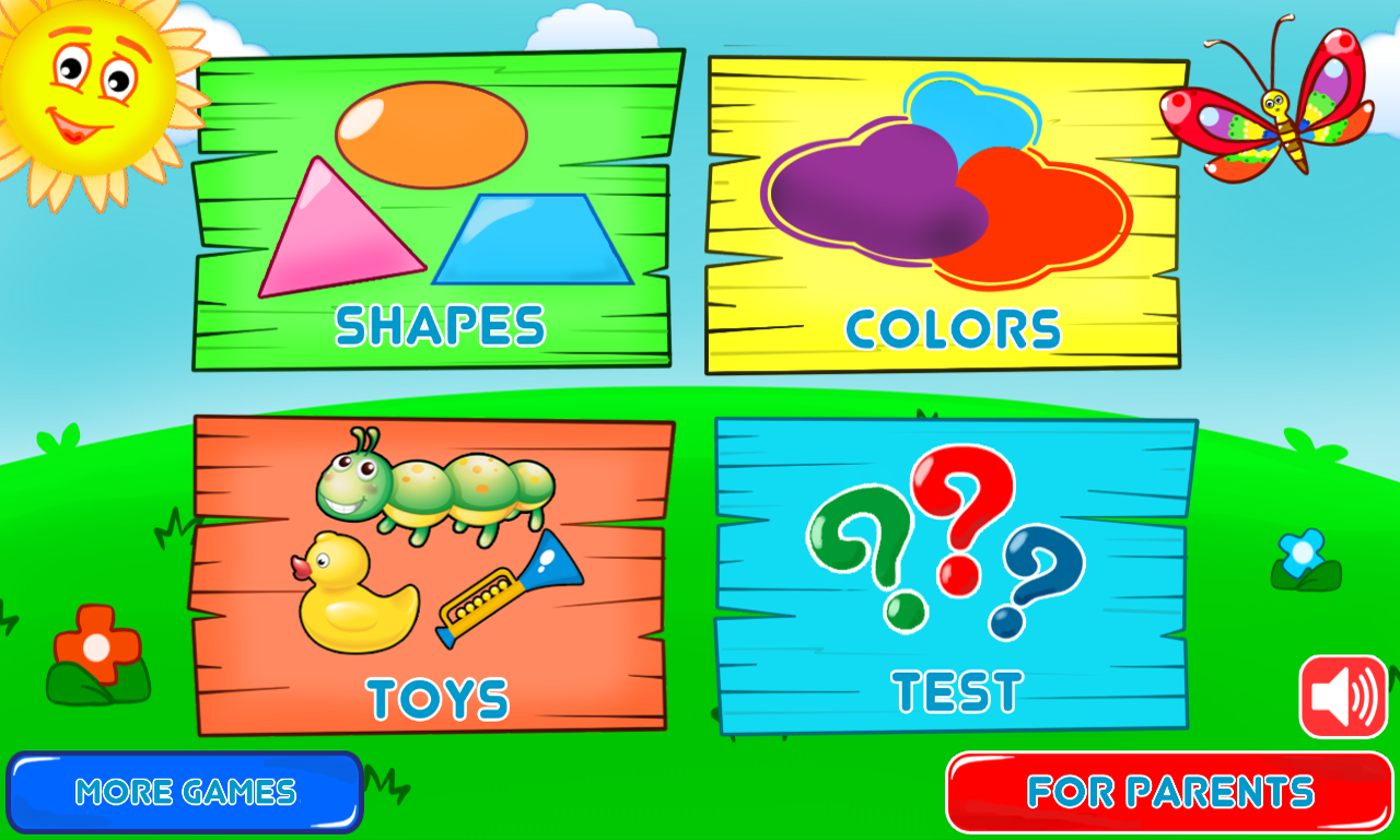Game for colors - Colors And Shapes For Toddlers Screenshot