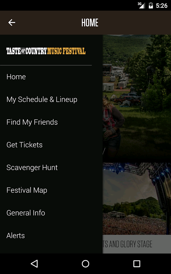 Taste of Country Festival- screenshot
