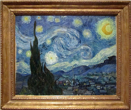 Photo: Vincent VAN GOGH - The starry night