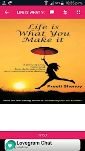 Life is What You Make it Novel by Preeti Shenoy - náhled