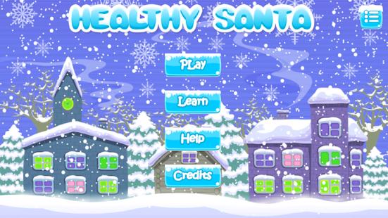 Healthy Santa/Learn English/Healthy food - náhled