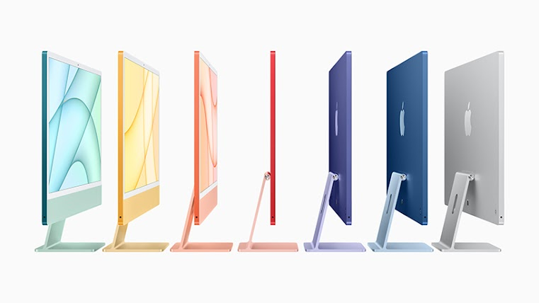 Apple unboxes new M1 iMac, iPad Pro, 4K TV, AirTags - ITWeb