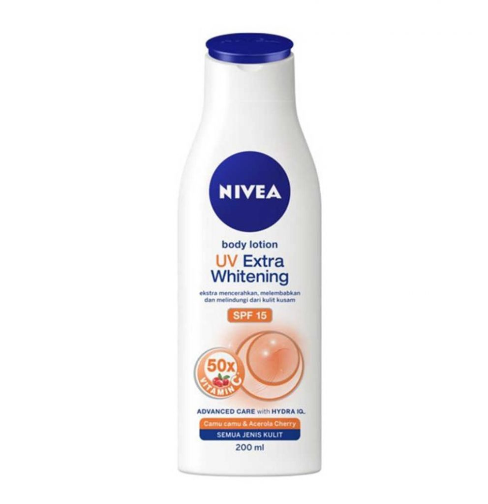 Nivea Body Lotion UV Extra Whitening SPF 15